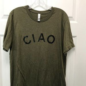 NWOT Bella Canvas Tee CIAO